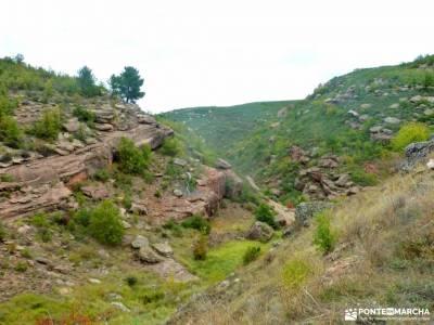 Valle de los Milagros-Cueva de la Hoz; peguerinos la cabrera madrid ruta del agua el monasterio de p